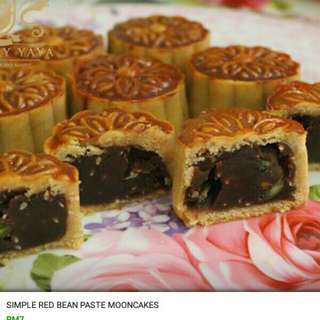Muslim Halal Red Bean Mooncakes