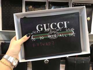 Gucci Gang clutch