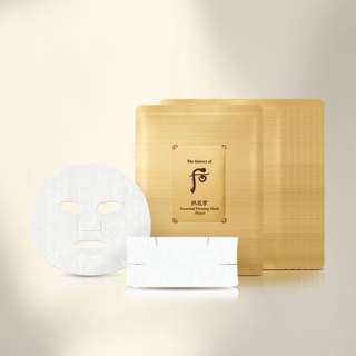 55折 韓國 The History of Whoo Gongjinhyang Essential Firming Mask Face & Neck 后 拱辰享 活膚緊緻 面膜 8片 頸膜 8片