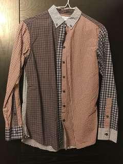 Uniqlo x ines de la fressange patchwork shirt