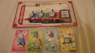 Thomas & Friends 機場快綫10週年紀念車票