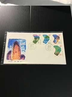 China Stamp - J148 首日封 FDC 中国邮票 1988