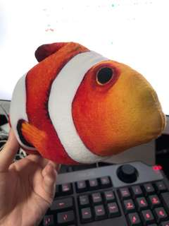 Catnip fish soft toy for cat