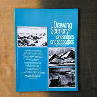 Drawing Scenery: Landscapes and Seascapes by Jack Hamm (Softcover)