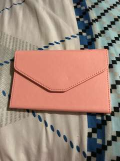 New Travel wallet (light pink)