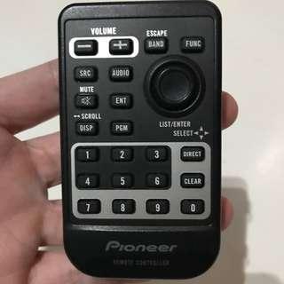 Pioneer car head unit remote