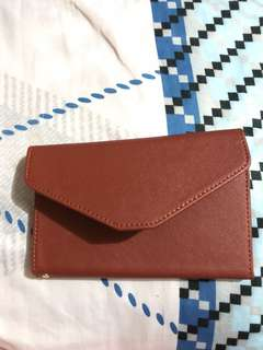 New travel wallet (brown)