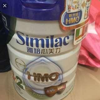 全新雅培新奶粉hmo 2 號購自萬寧有3罐