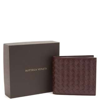BOTTEGA VENETA  leather wallet bv 銀包 男裝