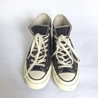 CONVERSE CT 70s BLACK/WHITE SIZE : 7,5 / 41 CM