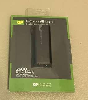 GP  儲電寶 Powerbank 2600mAh