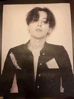G Dragon GD G-Dragon poster 60cm x 42cm Big Bang