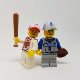 Lego Baseball CMS Collectible Minifigures Series