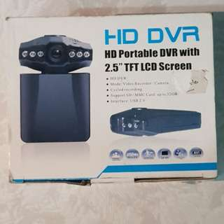"""HD Portable DVR With 2.5"""" TFT LCD Screen Car Recorder"""