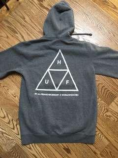 Huf triple triangle hoodie