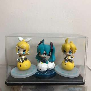 Vocaloid Mini Figures