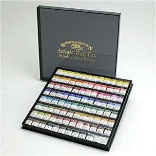 Winsor & newtow art supplies 溫莎牛頓水彩顏色英國代購