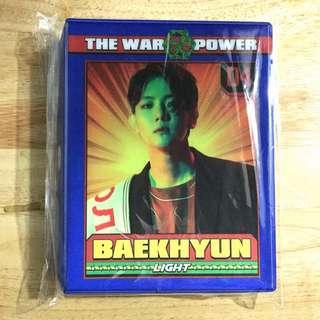 EXO BAEKHYUN POSTCARD COLLECT BOOK