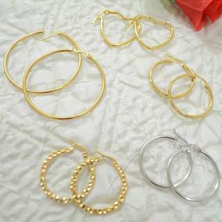 Hoop Earrings (Bundle)