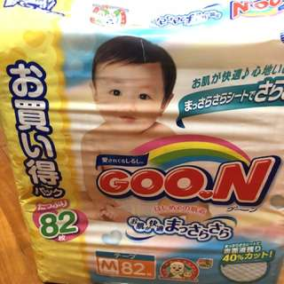 Goon中碼尿片增量版82 pices