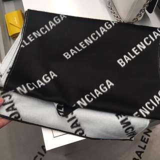 Balenciaga scarf 圍巾 代購