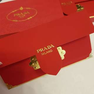 Prada red packet ang pao *exclusive give for vip buyer