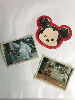 迪士尼 貼紙 Mickey Mouse Toystory Baymax