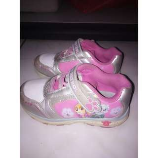 Girl Rubber Shoes w/Light