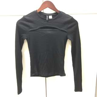 H&M STYLISH LONG SLEEVED TOP
