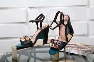 Fendi Block heels