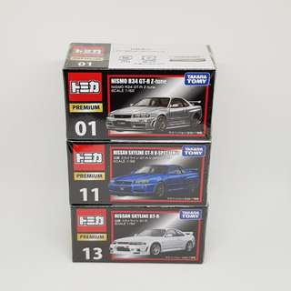 Takara Tomy Tomica Premium Nissan Nismo Diecast Cars