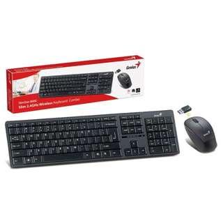 Genius 無線鍵盤及滑鼠組合