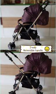 Combi Stroller - Miracle Turn DX