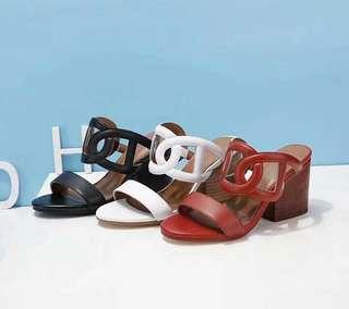 Hermes Block Heels