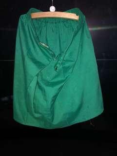 kain samping hijau size 38