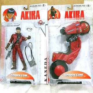 Akira Kaneda's Bike Mcfarlane Toys Single Carded version