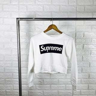 Sweatshirt Croptop