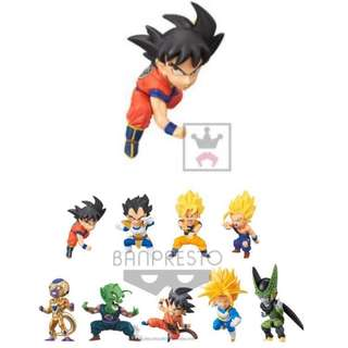 Banpresto 龍珠 Dragon Ball WCF Battle Special 4-1 孫悟空 Son Goku 白貓貼