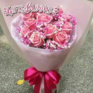 Flower Bouquet∕Hand Bouquet∕Birthday Bouquet∕Anniversary Bouquet∕Proposal Bouquet  - 5D0D9     50