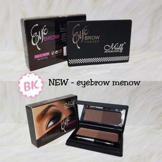 NEW - EYEBROW POWDER CAKE MENOW M.N GENERATION II