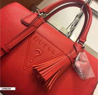 AUTHENTIC GUESS Baldwinpark Speedy Box Handbag