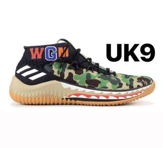 Adidas x Bape Dame 4 UK9