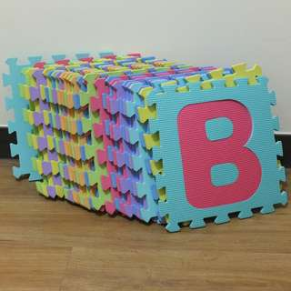 PUZZLE RUBBER MAT FOR BABY