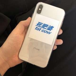 Iphone case fat cow 678x/plus