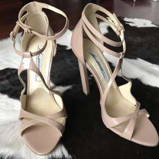 Brian Atwood nude heels, 37