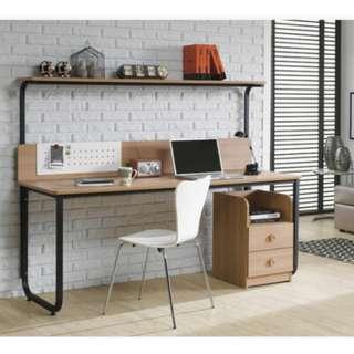2合1書架組合電腦桌 電腦枱 書桌(Computer Table, Office Table)