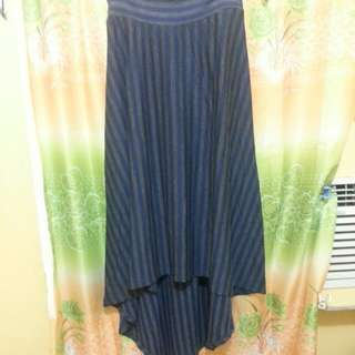 cotton ankle length maxi skirt