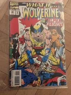 Vintage Wolverine book