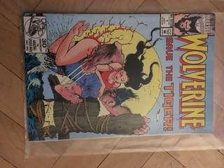 Wolverine vintage comic book 1962