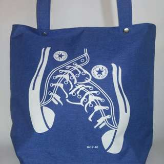 Tote bag denim
